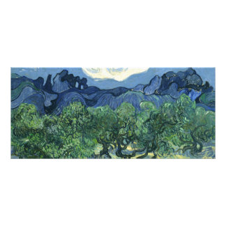 Oliviers de Van Gogh     1889 Double Carte