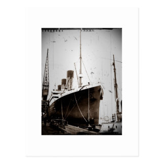 Olympisch RMS (1929) Wenskaart