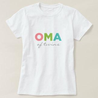 Oma des jumeaux t-shirt
