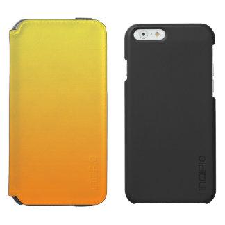 Ombre jaune et orange coque-portefeuille iPhone 6 incipio watson™