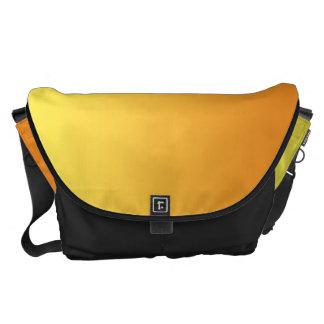 Ombre jaune et orange grand sacoches