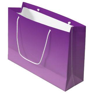 Ombre pourpre grand sac cadeau