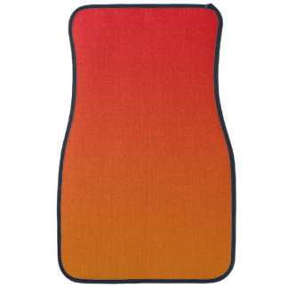 """""""Ombre rouge et orange"""" Tapis De Sol"""
