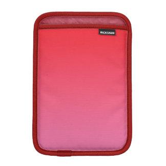 Ombre rouge et rose housses pour iPad mini