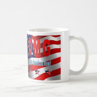 OMG je suis un Américain maintenant ! Mug