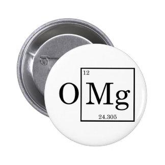 OMG - Magnésium - magnésium - table périodique Pin's
