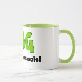 OMG oh mon guacamole - tasse de café drôle