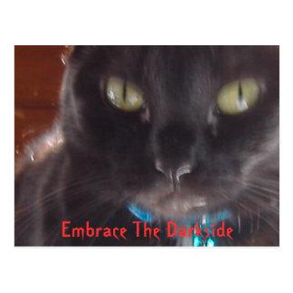 Omhels Darkside Briefkaart