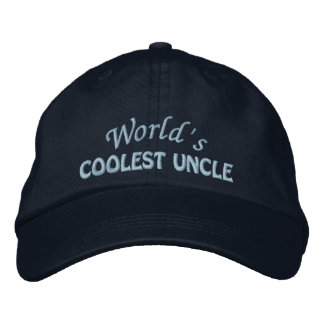 Oncle brodé Gift Casquette Brodée