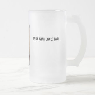 Oncle Earl Stein Frosted Glass Beer Mug