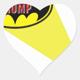 Oncle Sam Sticker Cœur