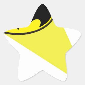 Oncle Sam Sticker Étoile