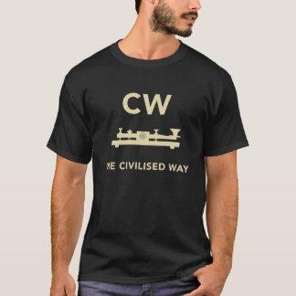 Onde entretenue - Le T-shirt civilisé de manière