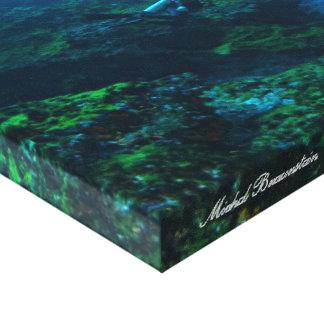 Onderwater Fernando de Noronha, Brazilië - Canvas