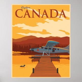 Onderzoek Canada! Poster