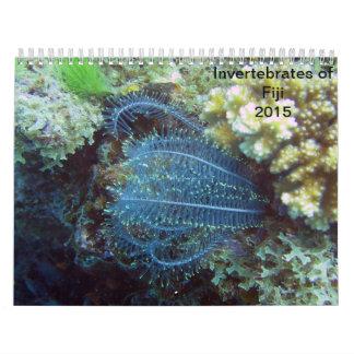 Ongewervelden van de Kalender van Fiji 2015