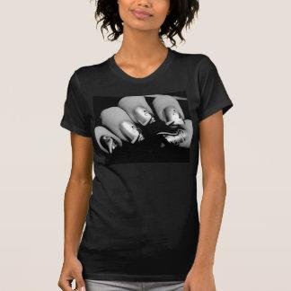 Ongles de concepteur tee-shirt