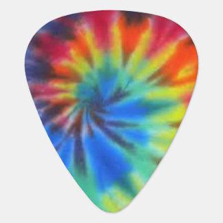 Onglet de guitare de colorant de cravate