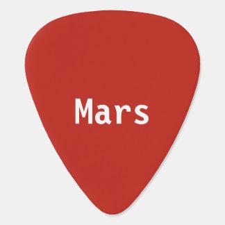 Onglets de guitare de Mars