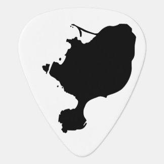 Onglets de guitare d'île de Gotts