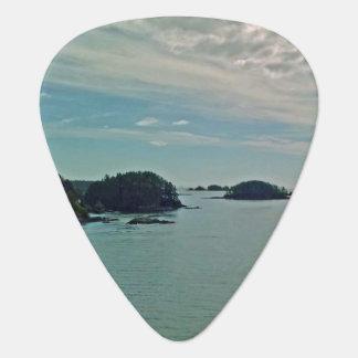 Onglets de guitare d'îles de Sitka
