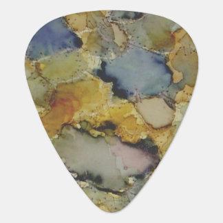 Onglets de guitare teints colorés multicolores onglet de guitare