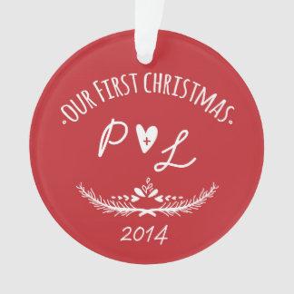 Ons Aanvankelijk Ornament van Eerste Kerstmis