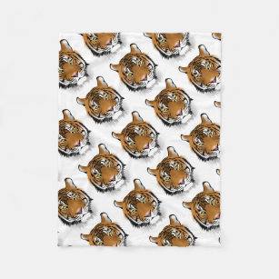 Fleece Deken Tijger.Tijger Dekens Zazzle Be