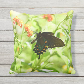 Openluchtthrowpillow van de vlinder sierkussen