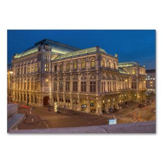 Opéra d'état de Vienne, Autriche Carte