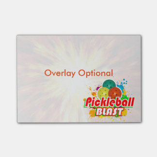 Options d'image de souffle de Pickleball Post-it®