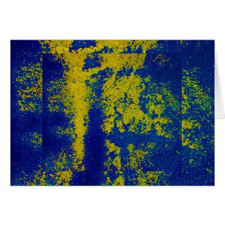 Or bleu III Carte De Vœux