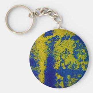 Or bleu porte-clé