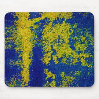 Or bleu tapis de souris