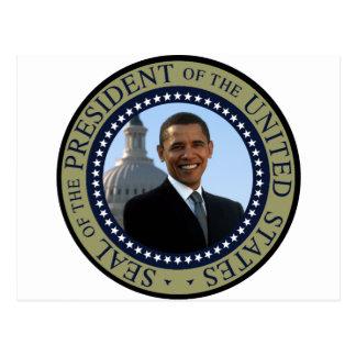 Or de joint d'Obama Carte Postale