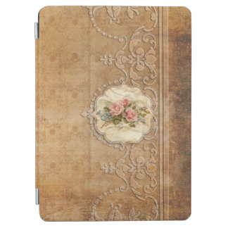 Or de relief par cru Scrollwork et roses Protection iPad Air