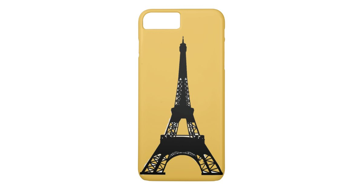 or de tour eiffel de paris coque iphone 7 plus zazzle. Black Bedroom Furniture Sets. Home Design Ideas