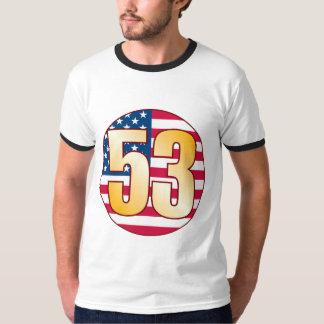 Or des 53 Etats-Unis T-shirt