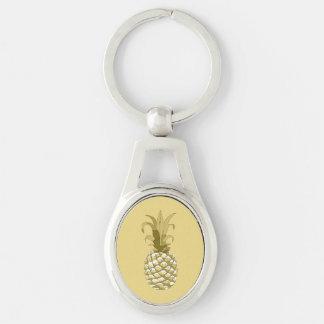 Or ID239 d'ananas Porte-clés
