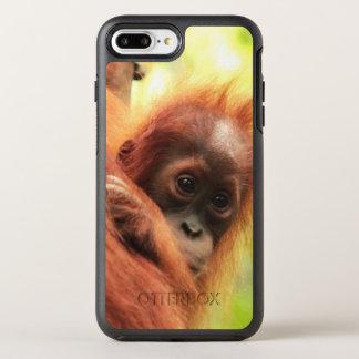Orang-outan de Sumatran de bébé Coque Otterbox Symmetry Pour iPhone 7 Plus