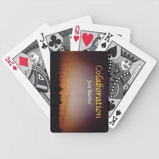 Orange d'art de couverture d'album d'histoires de jeu de cartes