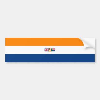 Oranje Blanje Blou, Zuidafrikaanse Vlag Bumpersticker
