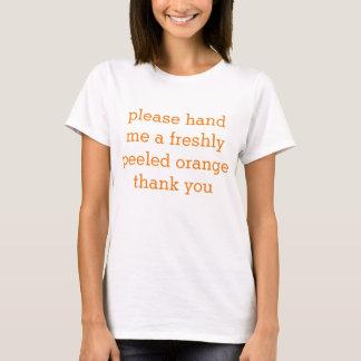 oranje emoji t shirt