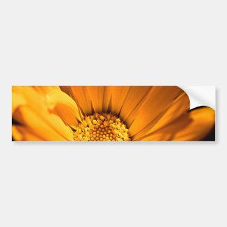 Oranje en geel gerberamadeliefje bumpersticker