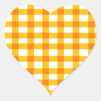 Oranje Gingang Stickers
