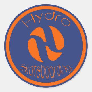 Oranje Logo Ronde Sticker