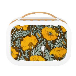 Oranje Lunchbox van Yubo van de Papaver