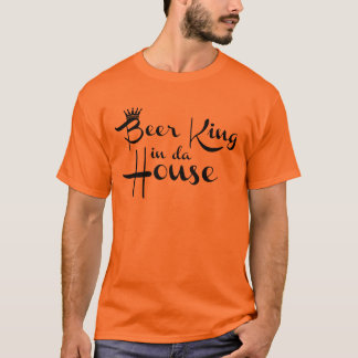 Oranje shirt - Beer King in da House