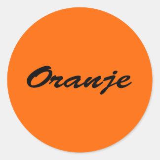 Oranje Stickers