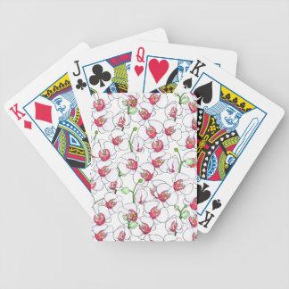 Orchidées blanches jeu de cartes